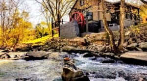Complete With A Working Water Wheel, The Historic Mill House Is A One-Of-A-Kind Stay In West Virginia