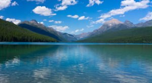 This Hidden Lake In Montana Has Some Of The Bluest Water In The State