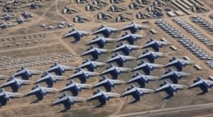 The Boneyard In Arizona Is The Resting Place For More Than 4,000 Abandoned Airplanes
