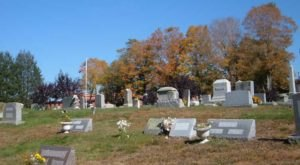 Ominous Vampire Stories Surround Jewett City Cemetery In Connecticut