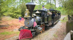 You'll Feel Like A Kid Again Riding This Epic Miniature Train At Heritage Park In South Carolina