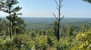 Off The Beaten Path In Ozark National Scenic Riverways, You'll Find A Breathtaking Missouri Overlook That Lets You See For Miles