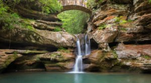 Hocking Hills State Park Is An Inexpensive Road Trip Destination In Ohio That's Affordable
