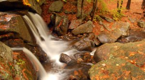 Trap Falls In Massachusetts Will Soon Be Surrounded By Beautiful Fall Colors