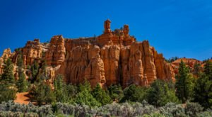 Red Canyon Is A Hidden Treasure With Impressive Rock Formations And Hiking Trails In Southern Utah