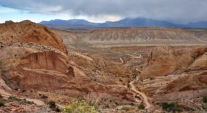 The Switchbacks On The Burr Trail In Utah Aren't For The Faint Of Heart, But The Views Are Worth It
