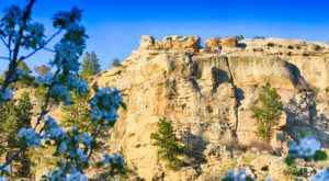 The Rock Formations In Billings, Montana Are A Geological Wonder