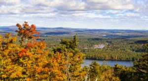Tackle 17 Miles Of Hiking Trails At Wachusett Mountain State Reservation For The Best Fall Views In Massachusetts