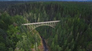 One Of The Highest Bridges In The Whole Country Is Right Here In Washington