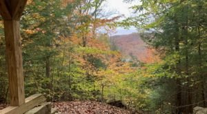 Catch The Last Of Ohio's Fall Color On The 2-Mile Shawnee State Park Lookout Trail