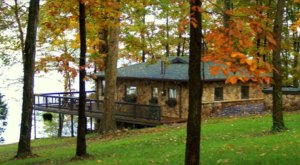 Experience The Fall Colors Like Never Before With A Stay At This Unique Kentucky Lake Cabin