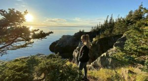 This Trail In Lubec, The Easternmost Town In Maine Offers Enchanting Forest And Water Views