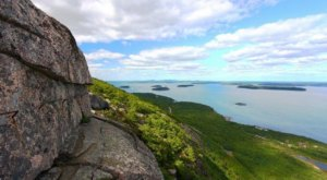 The Precipice Trail Is A Challenging Hike In Maine That Will Make Your Stomach Drop