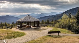 Off The Beaten Path In The White Mountain National Forest, You'll Find A Breathtaking New Hampshire Overlook That Lets You See For Miles