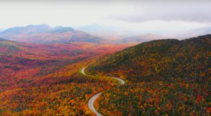 If You Missed This Year's Fall Foliage Peak, Sit Back And Enjoy This Mesmerizing Drone Footage Shot Over New Hampshire