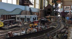 The Large-Scale Model Railway In Fort Bragg Is An Impressive Display Of Northern California History