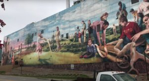 You'll Be Full Of Nebraska Pride When You See This Phenomenal Mural, One Of The Largest In America