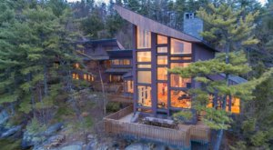 New Hampshire's Most Expensive Home Overlooking Lake Winnipesaukee Is Now Listed For Sale At $10 Million