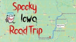 This Creepy Day Trip Through The Spookiest Places In Iowa Is Perfect For Fall
