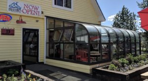 You'll Find Comfort Food With A Twist At This Alaskan Bistro With A Glass Solarium