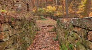Fall Is A Perfect Time To Hike Roaring Run Furnace Trail, A Lovely Little Waterfall Hike In Virginia
