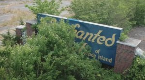 Everyone In Rhode Island Should See What's Inside The Gates Of This Abandoned Amusement Park
