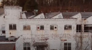 This Drone Footage Of The Abandoned Andrews Mill In Rhode Island Is Haunting
