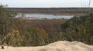 There Are Three Ancient Lakes Hiding Behind The Dunes At Grand Mere State Park In Michigan