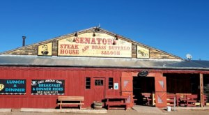The Steaks And Burgers At Senator's Steakhouse Are A Staple Of Wyoming Cuisine