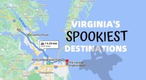 This Creepy Day Trip Through The Spookiest Places In Virginia Is Perfect For Fall