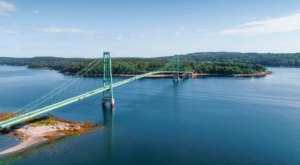 The Only Bridge Connecting Deer Isle To Mainland Maine Has A Fascinating History