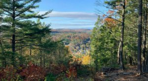 Gaze At Astonishing Fall Colors At The Jones Mountain Overlook In Connecticut