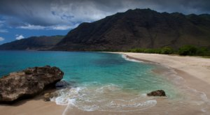 The Magnificent Makua Beach Is One Of Hawaii's Most Undeveloped And Secluded Stretches of Sand