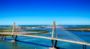 One Of The Highest Bridges In The Whole Country Is Right Here In South Carolina