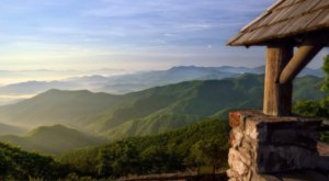 You Can Drive Right Up To The Wayah Bald Lookout Tower In North Carolina For Amazing Mountain Views