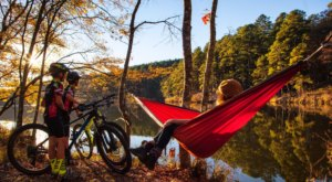 Bikers And Hikers Will Enjoy Northwoods Trail, A Gorgeous Lake Loop In Arkansas