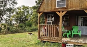 Get Away From The City And Find Yourself At This Tiny Rustic Cabin In Nebraska