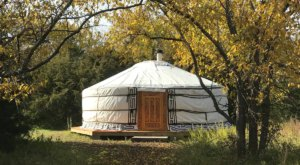 Vacation Off-Grid In A Hand-Crafted Mongolian Yurt In Kansas