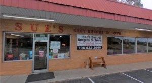 A True, Georgia Icon, Sue's Burgers Still Has The Tastiest Burger And Onion Rings Around