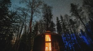 This Cozy Yurt Tucked In The Woods In Idaho Is The Perfect Base Camp For Your Next Adventure