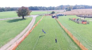Take A Ride On A Zip Line And Find Your Way Out Of Derthick's Corn Maze For Fall Family Fun In Ohio