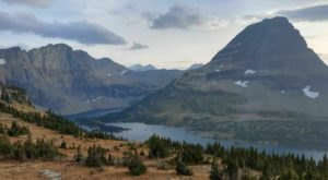 Hidden Lake Overlook In Montana Is  The Perfect Spot For Stunning Fall Views