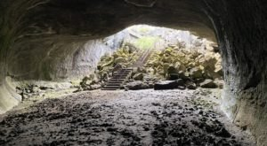 Descend Into Pitch Black Darkness When You Take On The Subway Cave Trail In Northern California
