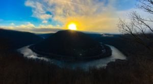 Watch The Sun Set On An Almost Abandoned Ghost Town From This Easy-Access Overlook Hiding In West Virginia
