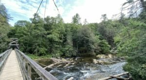 The Exhilarating Swinging Bridge Hike In Georgia That Everyone Must Experience At Least Once