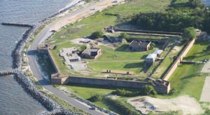 You'll Be Haunted By The History Of Fort Gaines, A Civil War Site In Alabama