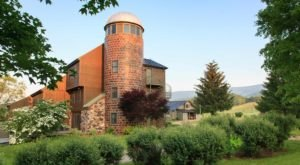 Spend The Night Inside A Converted Silo When You Stay At Fort Lewis Lodge In Millboro Springs, Virginia