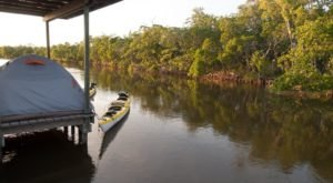 Camp In A Chickee Hut Right On The Water In The Florida Everglades