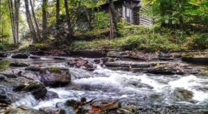 Unplug And Unwind At A Pioneer Cabin Perched In West Virginia's Highest State Forest