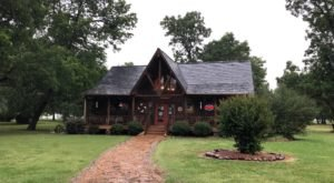 Choose From Hundreds Of Fabrics And Quilt Kits At The Two-Story Log Cabin Quilt Shop In Oklahoma